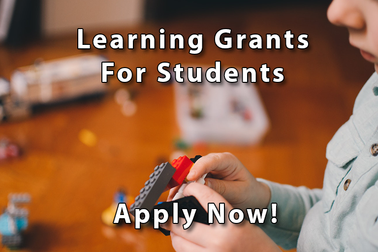Apply for a grant!