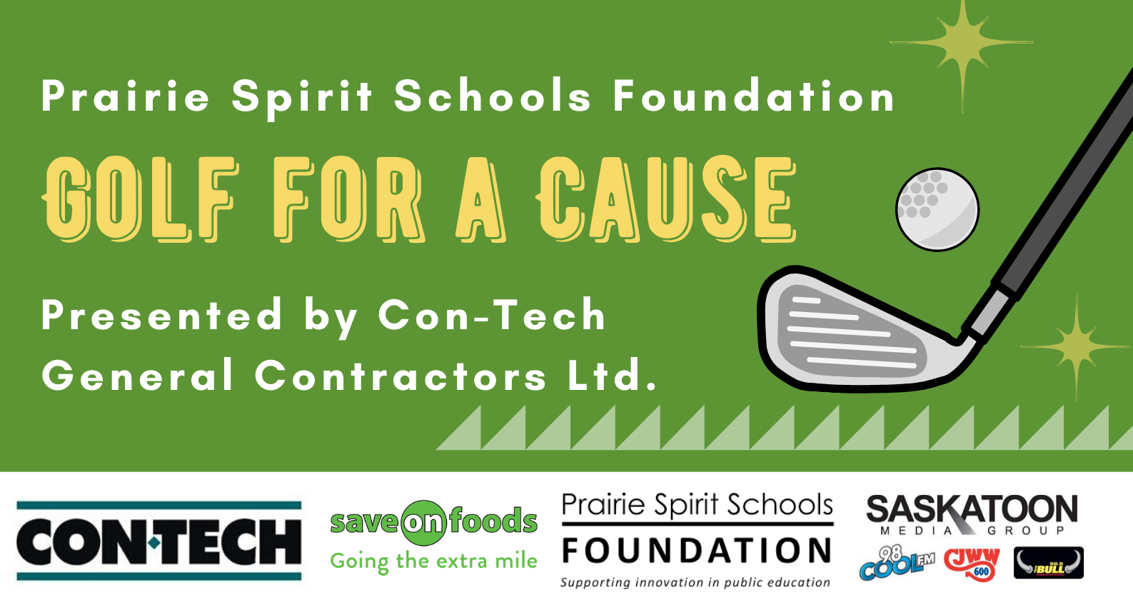 PSSF 'Golf For A Cause' Presented by Con-Tech